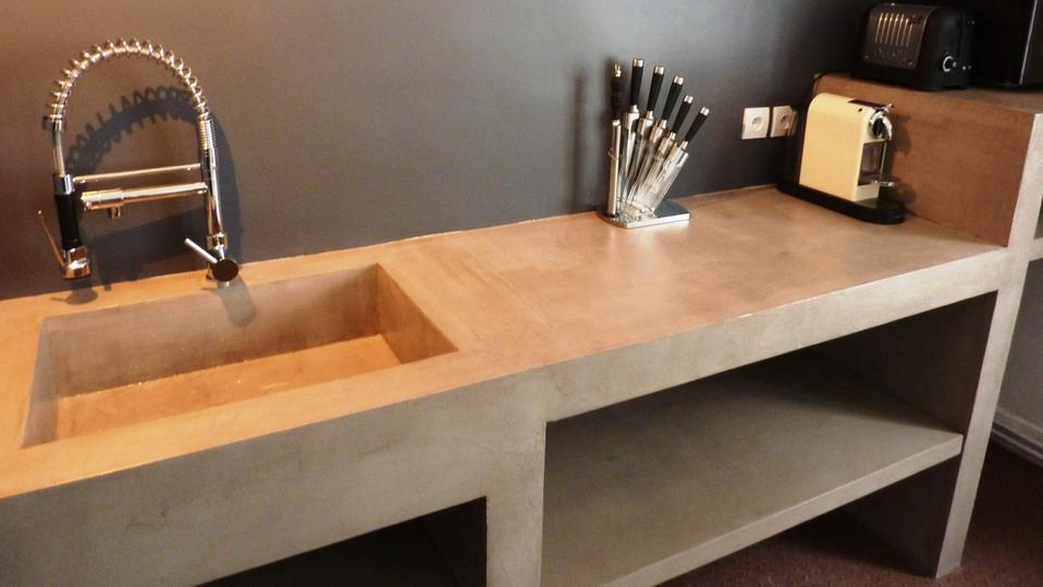 Table En Bton Cir Amazing With Table En Bton Cir Console Beton